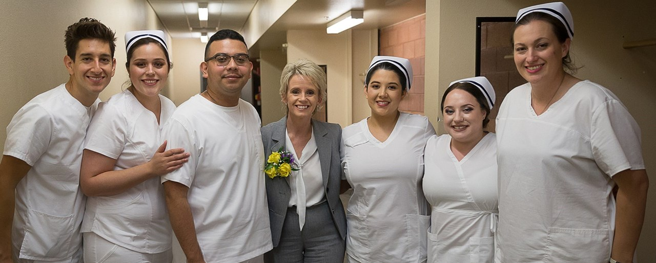 Vocational Nurse Graduation at Clovis North in September 2018