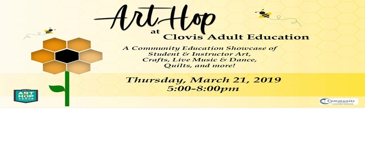 Community Ed ArtHop:  March 21, 2019